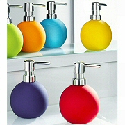 non slip colorful bathroom soap dispenser
