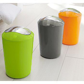 Non Slip Colorful Bathroom Soap Dispenser Colorful Waste Baskets For Your  Bathroom