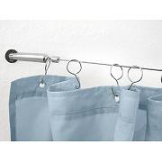 wire shower curtain rod