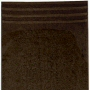 dark brown cotton towels