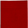 deep dark red bath towels