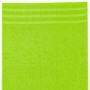 bright green cotton bath towels