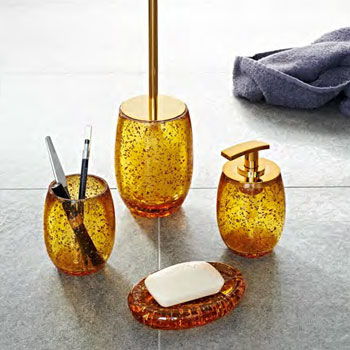 Bathroom Accessories Gold gold bathroom accessories - bathroom accessories sets in gold