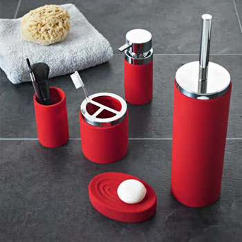 Best 25+ Red bathroom accessories ideas on Pinterest | Red mirror ...