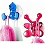 kids shower hooks with suctions cups for bath or shower