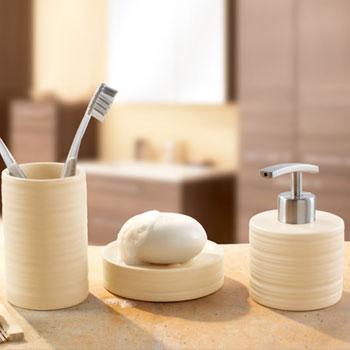 Sahara Round Porcelain Bathroom Accessories