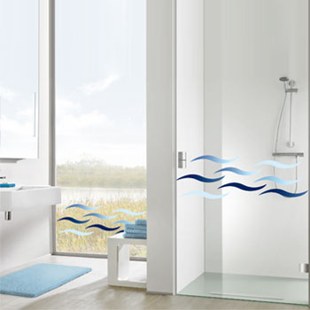 Static Deco Elements (Static cling film) Other Bathroom Accessories product photo