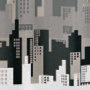 city design shower curtain