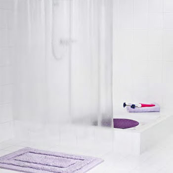 Crashed Ice Clear PVC Free Shower Curtain Shower Curtains product photo