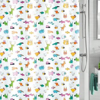 Farm Textile Shower Curtain Shower Curtains product photo