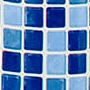 non toxic pvc free mosaic tile design shower curtain