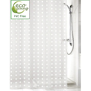 99+ Beige And Black Polka Dot Shower Curtain By Metarla - Yellow ...