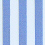 luxury fabric striped curtain in azure blue, white or sand beige