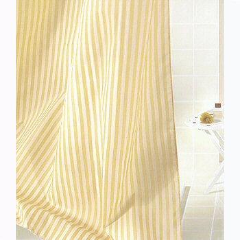 Sanna Elegant Striped Fabric Bathroom Shower Curtains