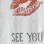 See You Later! shower curtain