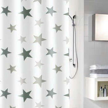 Stars 2 Shower Curtain Shower Curtains