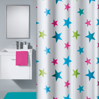 Stars Shower Curtain Shower Curtains product photo