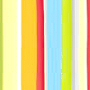 unique multi colored striped fabric extra long shower curtain with jewel tone stripes