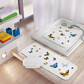 Butterfly Safety Mats Bath Safety Mats