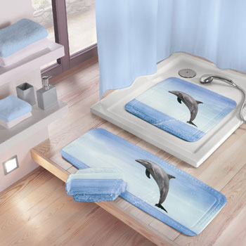 Delfin (Dolphin) Bath Safety Mats product photo