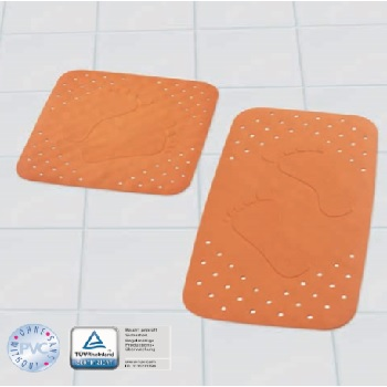 Flat Feet Anti-slip (PVC Free) Bath Safety Mats product photo