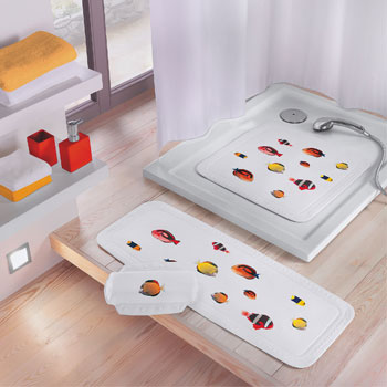 Happy Fish Bath Safety Mats product photo
