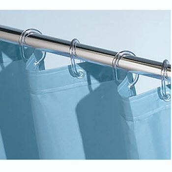 Clear Or White Shower Curtain Rings