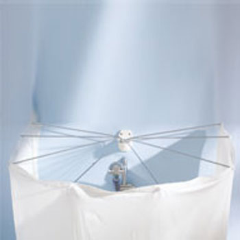 Spider Shower enclosure Rods, Rails, and Rings product photo