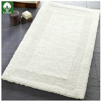Arizona Reversible Luxury Cotton Bathroom Carpet