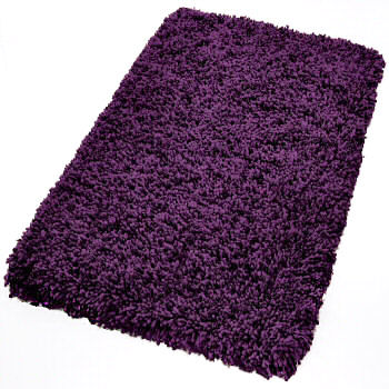 Dark Pink Bath Rug Sets