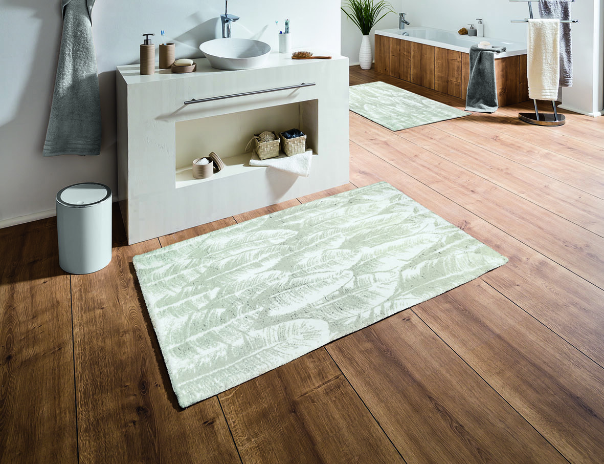 Feather Bath Rug Bathroom Rugs product photo
