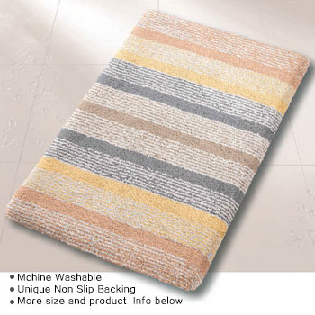 Linnea Luxury Bath Rugs