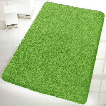 Luxury Solid Color Bathroom Rugs With Thick Pile Vita Futura