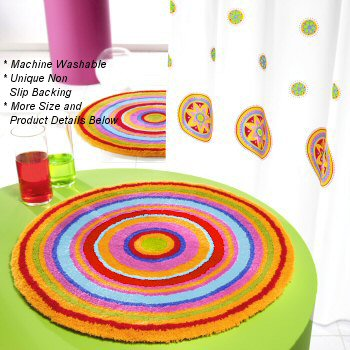 Click Link Below This Image For More Details Stylish Vibrant Multicolor Round Rugs