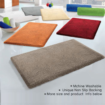 Bath, bathroom rugs & mats for safety, quality and design | Vita Futura