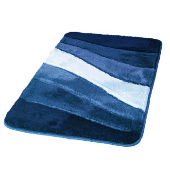 Ocean Modern Ocean Themed Non Slip Bathroom Rug With