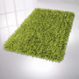 Luxury polyester/polyacrylic bath rug.