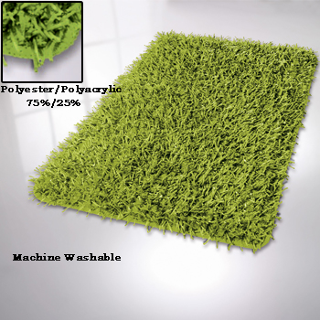 Riva Polyester / Polyacrylic Bath Rugs Bathroom Rugs product photo