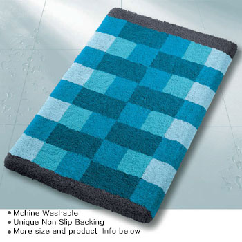Romy Bath Rug Bathroom Rugs