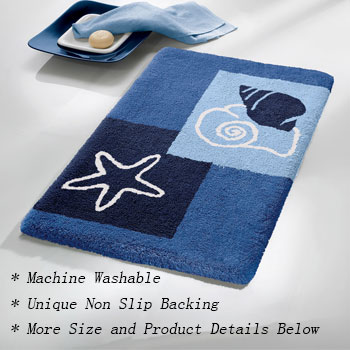 Seaworld Bath Rugs Bathroom Rugs product photo