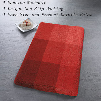 Square Bath Rugs Bathroom Rugs product photo