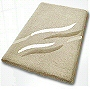 gorgeous luxury bath rugs in bold color options and extra large sizes