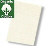 organic cotton bathroom rug in light off white creamy tone