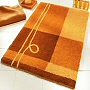contemporary medium pile bath rug available in extra large sizes