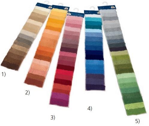 Creativo Color Strips for Grandezza Rugs