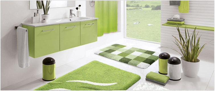 Unique Bath Decor Rugs Mats Shower Curtains Rods Accessories